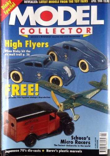 ORIGINAL MODEL COLLECTOR MAGAZINE April 2000